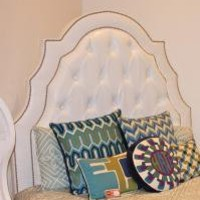 www.roomservicestore.com - White Tufted Marrakesh Bed
