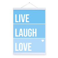 Nordic Minimalist Love Motivational Typography Life Quotes A4 Art Print Poster Wall Picture Canvas Painting Kids Room Home Decor