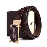 LOUIS VUITTON GENUINE LEATHER BELT #M9807/ BELTS