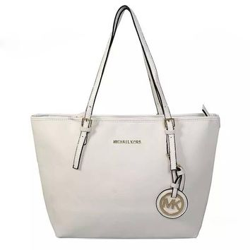 MICHAEL KORS  MK Women Shopping Leather Handbag Tote Satchel Shoulder Bag