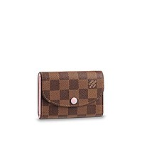 Louis Vuitton Rosalie Coin Purse Damier Ebene Canvas N64423