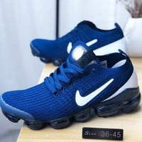 NIKE AIR VAPORMAX Fashion Men Casual Air Cushion Sport Running Shoes Sneakers Blue