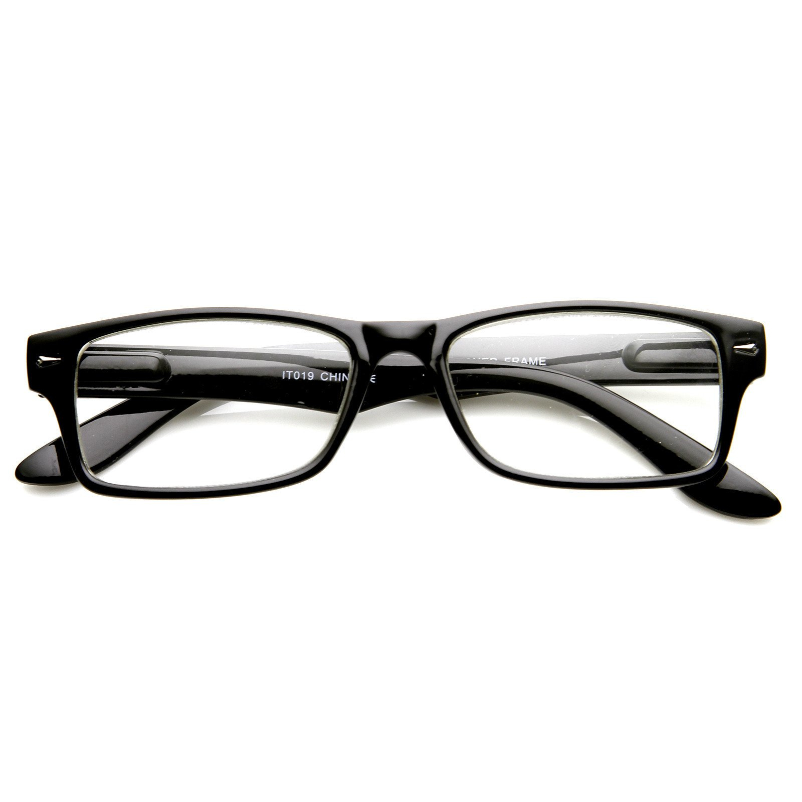 Image of New Optical Quality Frame Clear Lens Glasses 8715