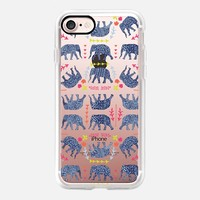 Patterned Eles iPhone 7 Case by Kanika Mathur | Casetify