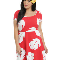 Disney Lilo & Stitch Lilo Hawaiian Dress Plus Size