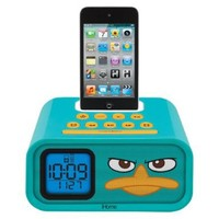 """eKids Phineas and Ferb """"Agent P"""" 30-Pin iPod Speaker Dock, by iHome - DF-H22:Amazon:MP3 Players & Accessories"""