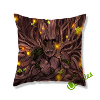 Groot I am Groot Square Pillow Cover