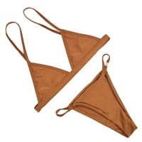 Bikinis Swimwear Push up Brazilian Women 2016 Sexy Thong String Mini Micro Bikini Set Bathing Suits Womens Swim Wear Swimsuits