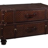 One Kings Lane - The Coffee Table - Alston Trunk Table