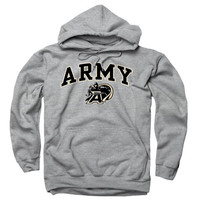 Army Black Knights Sport Gray Perennial II Hooded Sweatshirt