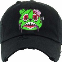 Zombie Baws Black Dad Hat