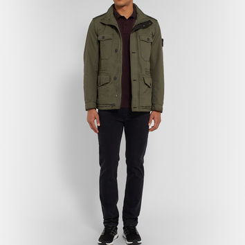Stone Island - Quilted Field Jacket | MR PORTER