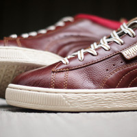 PUMA Stepper Lux - Maroon   Sneaker   Kith NYC