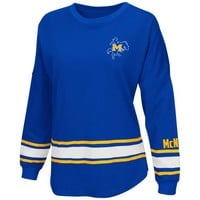 Colosseum Athletics™ Women's McNeese State University All Around Oversize Long Sleeve T-shi