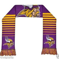 Minnesota Vikings Forever Collectibles 2014 Big Logo Scarf