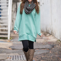 Simply The Best Tunic, Mint