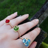 The Legend of Zelda Three Ring Set
