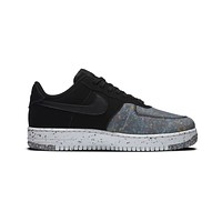 Nike Men's Air Force 1 Low Crater Black Photon Dust