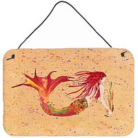Mermaid Indoor or Aluminium Metal Wall or Door Hanging Prints