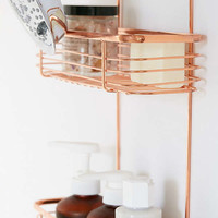 Minimal Rose Gold Shower Caddy   Urban Outfitters
