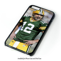 Aaron Rodgers iPhone 4 4S 5 5S 6 6 Plus Case and iPod Touch 4 5 Case