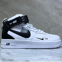 Nike Air Force 1 Low Gaobang Fashion Leisure Board Shoes