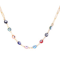 Evil Eye Play Necklace