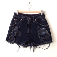Levi Strauss High Waisted Shorts - Size 25/26