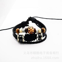 Gift Great Deal Awesome Stylish Hot Sale New Arrival Shiny Leather Strong Character Men Accessory Ring Jewelry Bracelet [6526730435]
