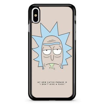Rick And Morty - Rick Quote iPhone X Case