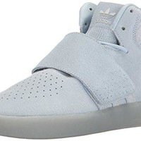 adidas Originals Women's Shoes   Tubular Invader Strap Fashion Sneakers, Easy Blue/Easy Blue/Pearl Opal, (8 M US)