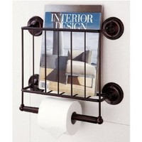 Oil Rubbed Bronze Wall Mounting Magazine Rack