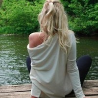 White Top - LeMuse for cozy days... | UsTrendy