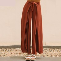 Casual Loose Wide Leg Trousers