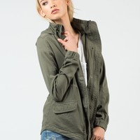 Military Hooded Jacket