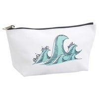 Surf's Up Zipper Pouch - Be Swell