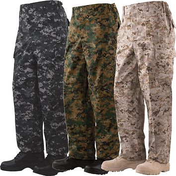 Tru-Spec Digital Camouflage Battle Pants