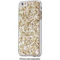 Case-Mate - Karat Hard Shell Case for Apple® iPhone® 6 Plus - Clear/Gold
