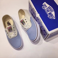 Urban Outfitters x Vans Beige Sandy beach Light blue sea Design Sneaker