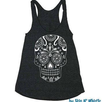 Womens Racerback Tank Top  american apparel by skipnwhistle on Etsy