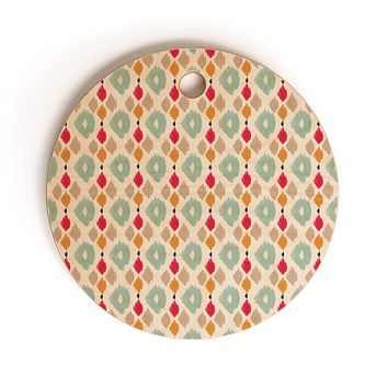 Allyson Johnson Dainty Chic Cutting Board Round
