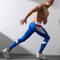 Men Running Tights Leggings Stretch Sweatpants Jogging Fitness Gym Training Workout Sport Track Yoga  Pants Trousers for Male