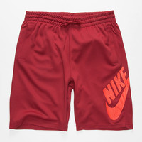 Nike Sb Dri-Fit Sunday Mens Sweat Shorts Crimson  In Sizes