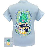 Girlie Girl Originals Preppy Southern Mama Pineapple T Shirt