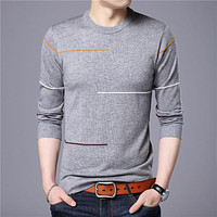 Cashmere Wool Sweater Men Clothing Autumn Winter New Arrival Slim Warm Sweaters O-Neck Pullover Men Top