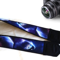 Cool Man Gift. Shoulder Strap. Galaxy  Camera Strap. Accessories