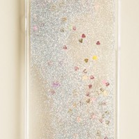 GLITTER AND HEARTS IPHONE 6 CASE