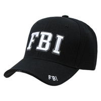Delux Military Law Enforcement Cap Hat- FBI