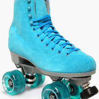 Boardwalk Teal Outdoor Roller Skates - Square Cat Skates