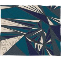 Vy La Tech It Out Midnight Fleece Throw Blanket